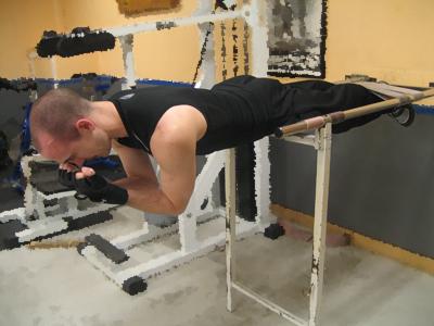 Ryggresning - Position 3 - Rak i ryggen